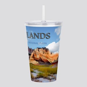 Mountains Sky in the Acrylic Double-wall Tumbler