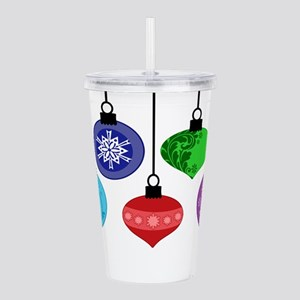 Christmas Ornaments Acrylic Double-wall Tumbler