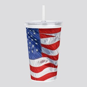 Waving Wind American F Acrylic Double-wall Tumbler