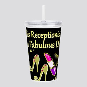 RECEPTIONIST Acrylic Double-wall Tumbler