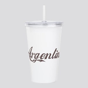 Vintage Argentina Acrylic Double-wall Tumbler