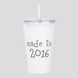 Made in 2016 Acrylic Double-wall Tumbler