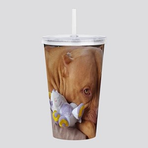 PitBull Pose Acrylic Double-wall Tumbler