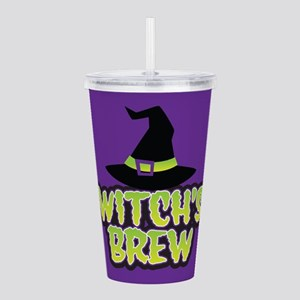 Witch's Brew Acrylic Double-wall Tumbler