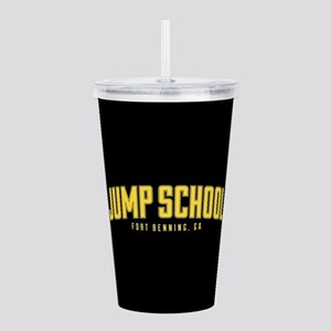 US Army Jump School Acrylic Double-wall Tumbler
