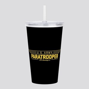 US Army Paratrooper Acrylic Double-wall Tumbler