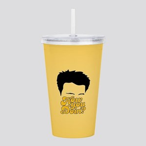Friends How You Doin'? Acrylic Double-wall Tumbler