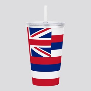 State Flag of Hawaii Acrylic Double-wall Tumbler