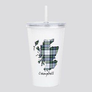 Map-Campbell dress Acrylic Double-wall Tumbler