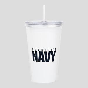 America's Navy Acrylic Double-wall Tumbler