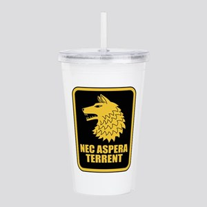 27th Inf Regt L Acrylic Double-wall Tumbler