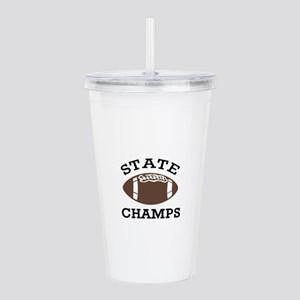 STATE CHAMPS Acrylic Double-wall Tumbler