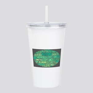Sea Breeze Acrylic Double-wall Tumbler