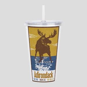 Adirondack Moose Acrylic Double-wall Tumbler
