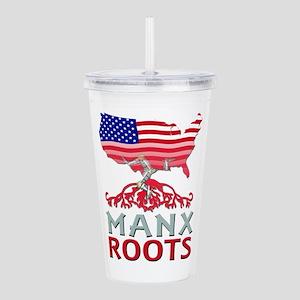 Manx American Roots Acrylic Double-wall Tumbler