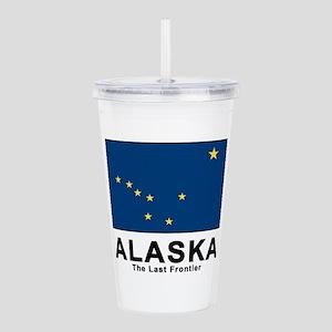 Alaska Flag Acrylic Double-wall Tumbler