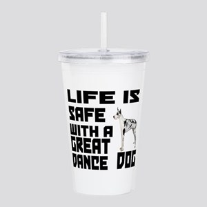 Life Is Safe With A Gr Acrylic Double-wall Tumbler