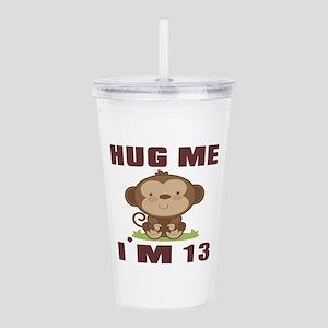 Hug Me I Am 13 Acrylic Double-wall Tumbler