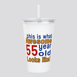 This Is What Awesome 5 Acrylic Double-wall Tumbler