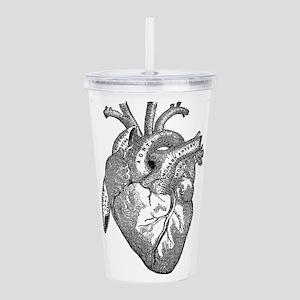 Anatomical Heart - Black Acrylic Double-wall Tumbl