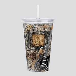Guitar Love Guitarist Acrylic Double-wall Tumbler