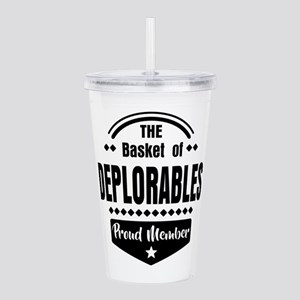 Proud Member of the Basket of Deplorables Acrylic
