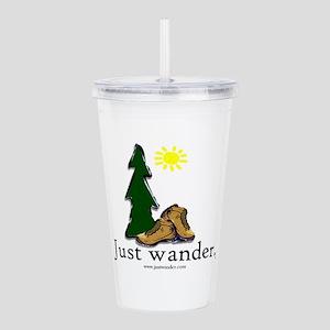 Just Wander (TM) Hikin Acrylic Double-wall Tumbler