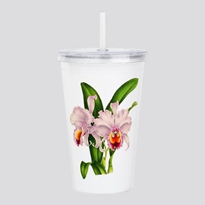 Violet Whisper Cattley Acrylic Double-wall Tumbler