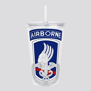 173rd Airborne CFMB Acrylic Double-wall Tumbler