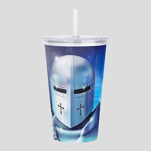 Blue Knight Acrylic Double-wall Tumbler