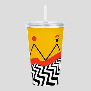 Twin Peaks Jack Rabbit Acrylic Double-wall Tumbler