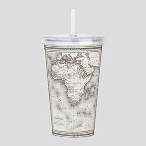 Vintage Map of Africa Acrylic Double-wall Tumbler