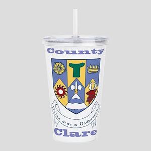 County Clare COA Acrylic Double-wall Tumbler