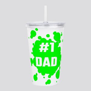 Number One Dad Acrylic Double-wall Tumbler