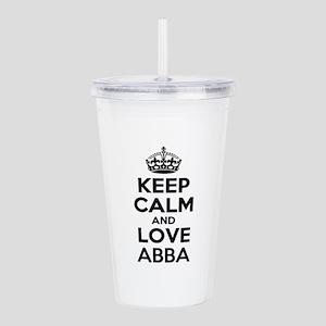 Keep Calm and Love ABB Acrylic Double-wall Tumbler
