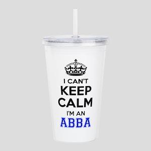 I cant keep calm Im AB Acrylic Double-wall Tumbler