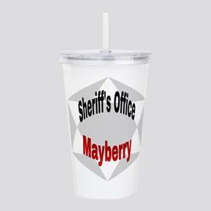 Sheriff's Office Maybe Acrylic Double-wall Tumbler