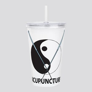 Acupuncture Acrylic Double-wall Tumbler