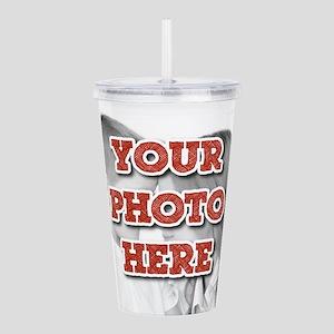 CUSTOM Your Photo Here Acrylic Double-wall Tumbler