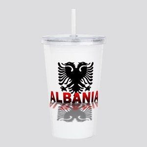 3D Albania Acrylic Double-wall Tumbler