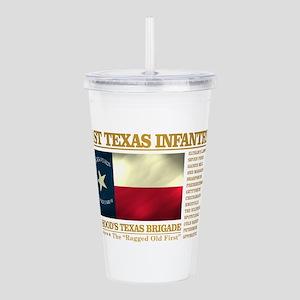 1st Texas Infantry (BH2) Acrylic Double-wall Tumbl