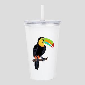TOUCAN BIRD Acrylic Double-wall Tumbler