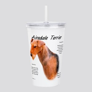 Airedale Terrier Acrylic Double-wall Tumbler