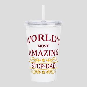 Step-Dad Acrylic Double-wall Tumbler