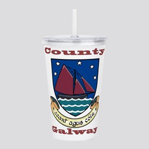 County Galway COA Acrylic Double-wall Tumbler