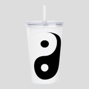 Yin And Yang Acrylic Double-Wall Tumbler
