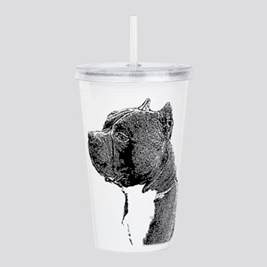 American Bully Dog Acrylic Double-wall Tumbler
