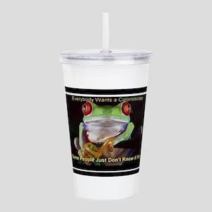 Colon Frog Lrg Acrylic Double-wall Tumbler
