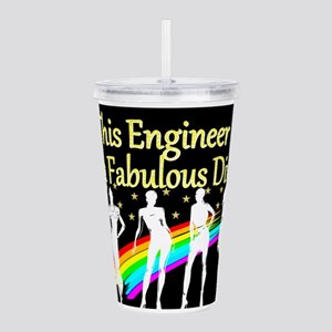 ENGINEER DIVA Acrylic Double-wall Tumbler