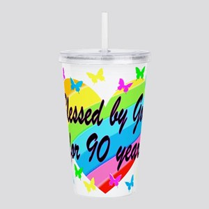 90TH PRAYER Acrylic Double-wall Tumbler